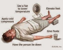 First Aid for Heat Stroke-