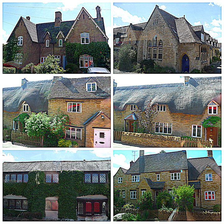 Cottages in the Cotswolds.
