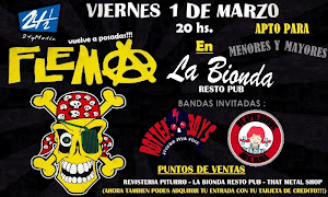 FLEMA VUELVE A POSADAS!! VIERNES 1 MARZO 2013