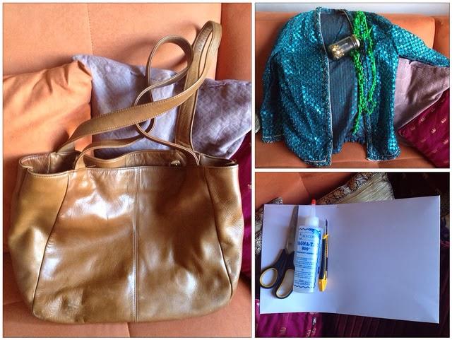 Embellished Leather Bag