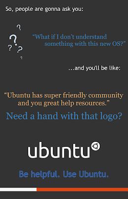 ubuntu lebih helpful ketimbang Windows