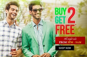 Trendin Block Buster Offer: Buy 2 Get 2 Free Offer on Peter England Clothings & Accessories (Wallets & Socks) Valid till 3rd Sep'14 – 9.00 AM