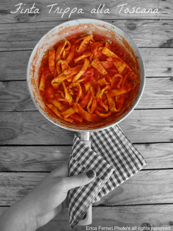 ricetta tradizionale finta trippa toscana