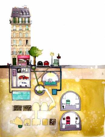 les myst res de parisiengalt mais qu 39 y a t il sous les pieds des parisiens. Black Bedroom Furniture Sets. Home Design Ideas