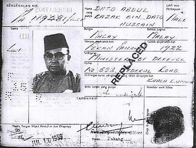 kad%2Bpengenalan%2B2 Sejarah Kad Pengenalan Malaysia
