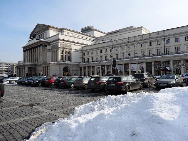 Teatr Wielki i plac Teatralny