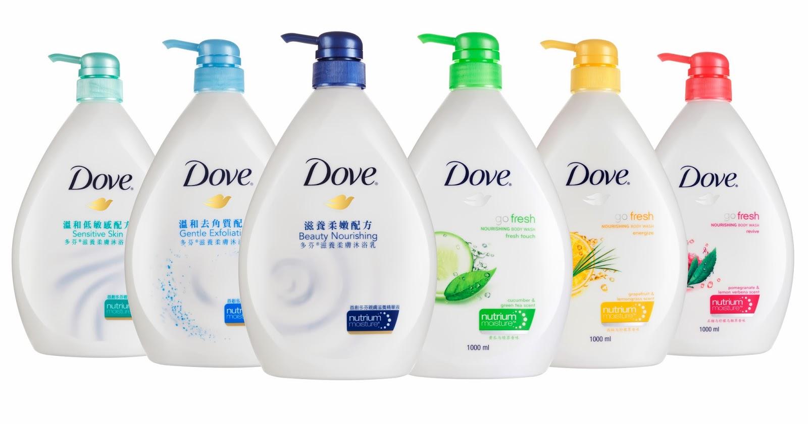 Dove® NutriumMoisture™  Body Wash
