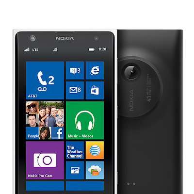 Nokia Lumia 1020 Black with Window8 Camera