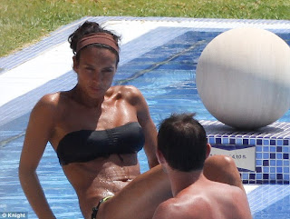 Frank Lampard with Wife Hot