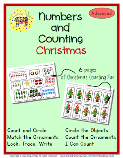 https://www.teacherspayteachers.com/Product/Christmas-Numbers-and-Counting-Advanced-EditionCommon-Core-Aligned-972253