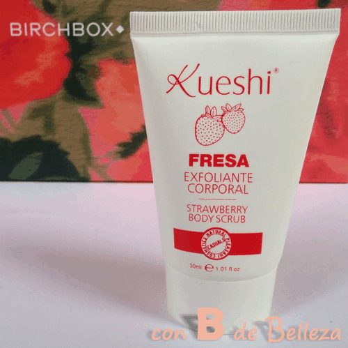 Body scrub strawberry Kueshi