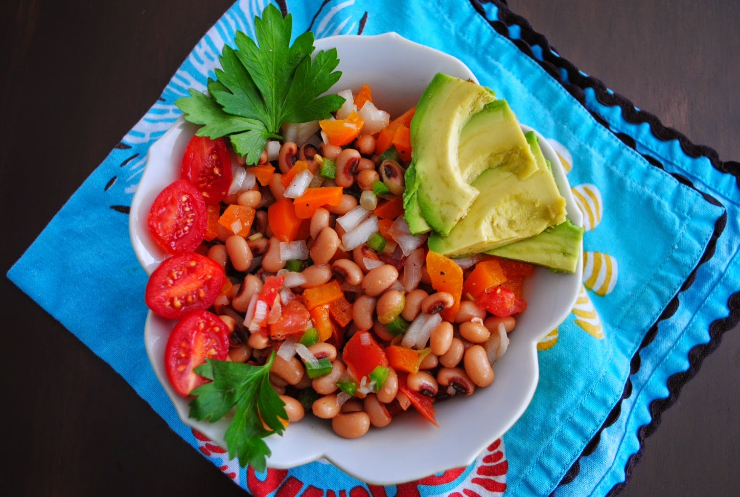 red lips, won't quit: {Recipe} Black-Eyed Pea Summer Salad