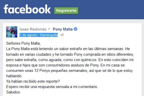 ¿Qué pasa con la PonyMalta en Colombia? « Servicio Público ☼ audio #CucutaNOTICIAS