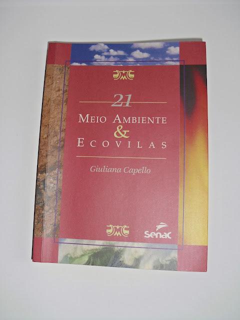 capa livro - Meio Ambiente e Ecovilas - Giuliana Capello