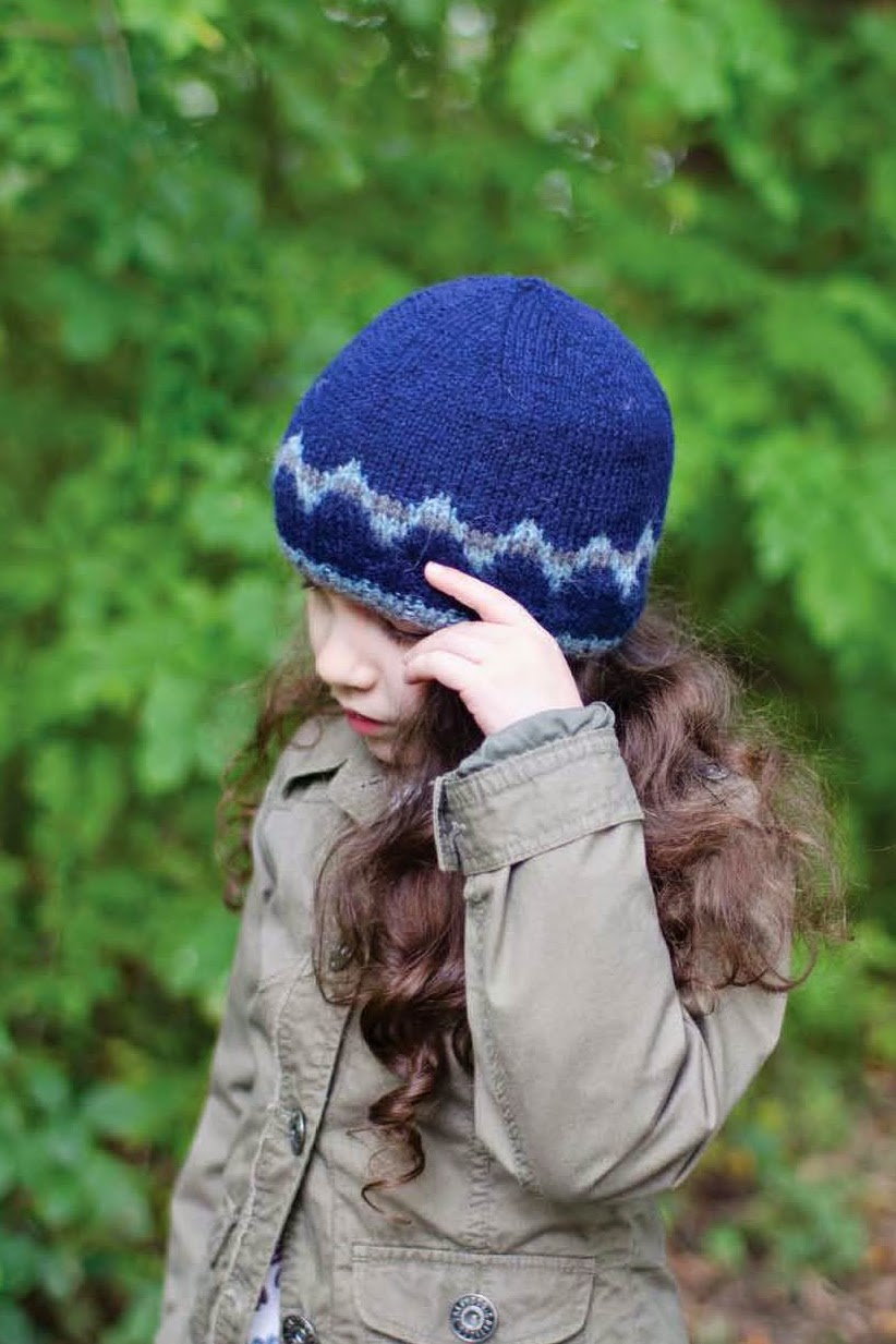 Northumberland hat pattern on Ravelry