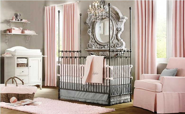 Wall paint color for baby girl room for Colors for a girl room