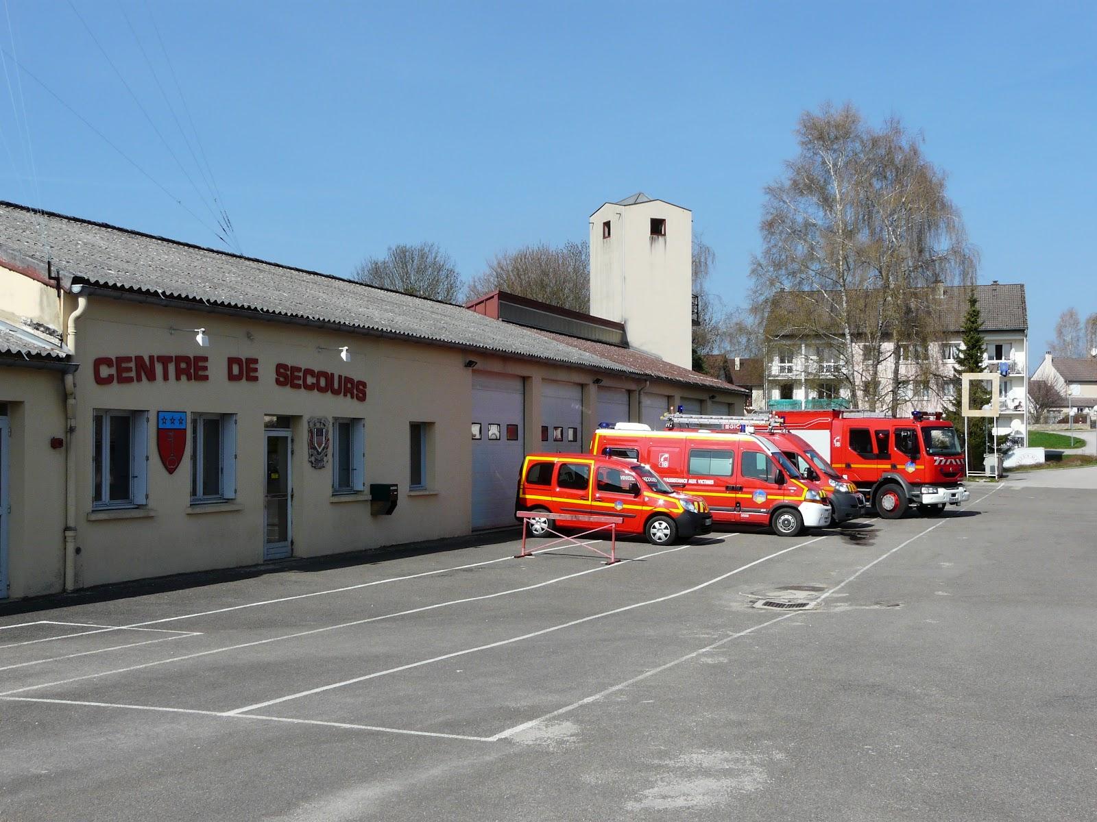Jsp pompiers bletterans casernes du jura for H s bains sons