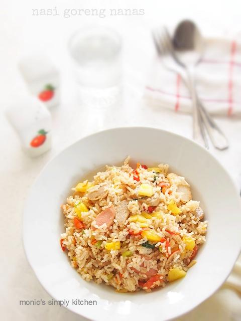 resep nasi goreng nanas