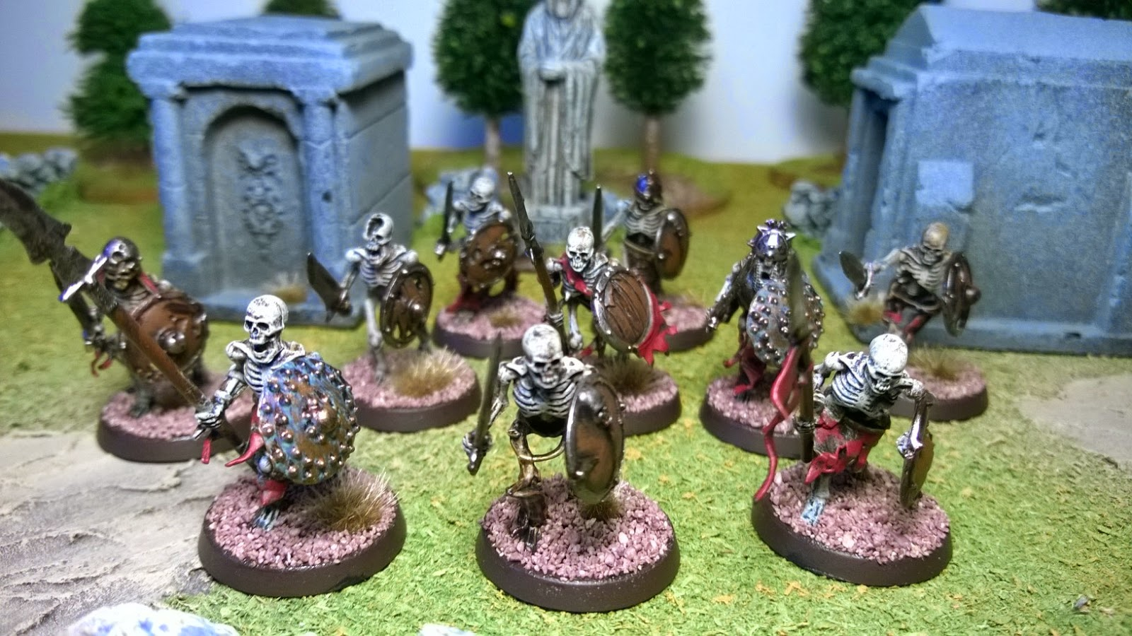 skeleton horde games workshop undead vampire counts