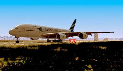 Mod Garuda Indonesia A380