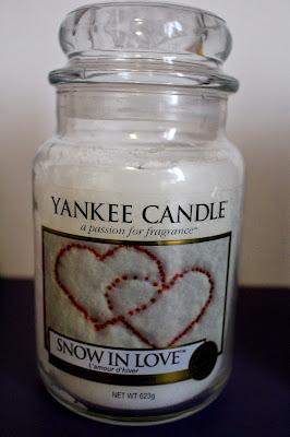 Grande jarre Yankee Candle Snow in Love