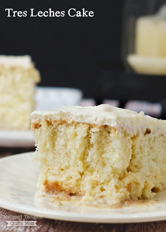 Tres Leches Cake Recipe | Scattered Thoughts of a Crafty Mom