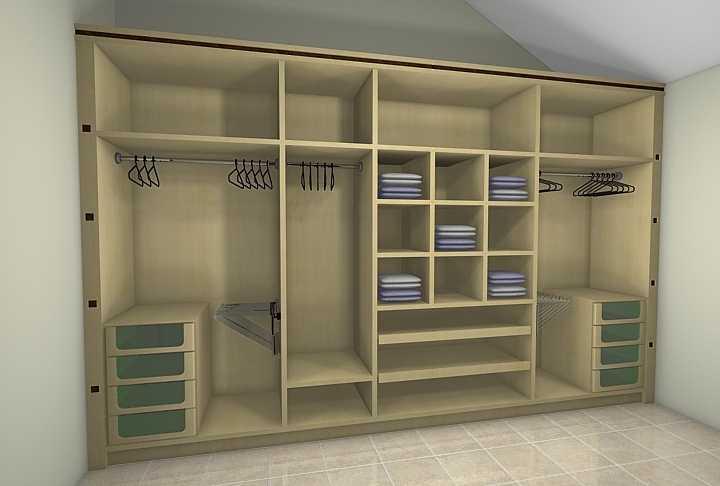 M veis correia closets for Modelos closets para dormitorios