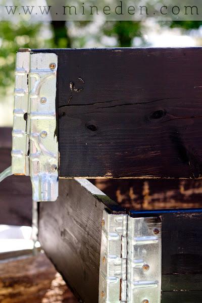 Behandla pallkragar med giftfri färg