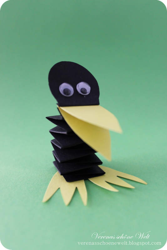 Elijah Raven Preschool Craft