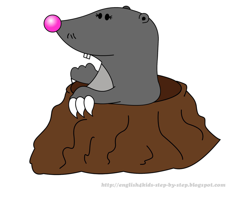 Cute mole day cartoon - photo#7
