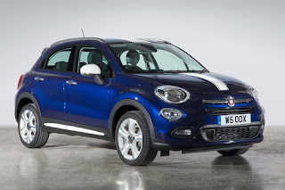 Fiat 500X With Mopar Accessories (2015) Front Side