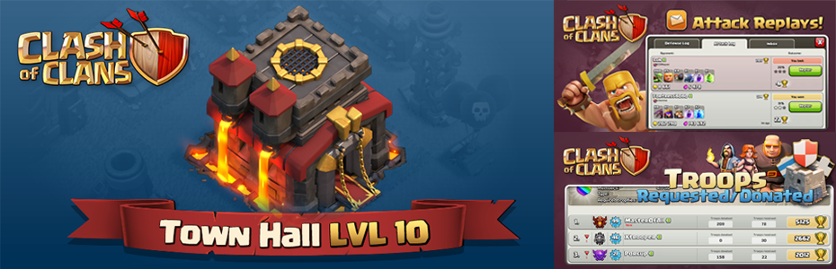 Clash of Clans Town Hall Level 10