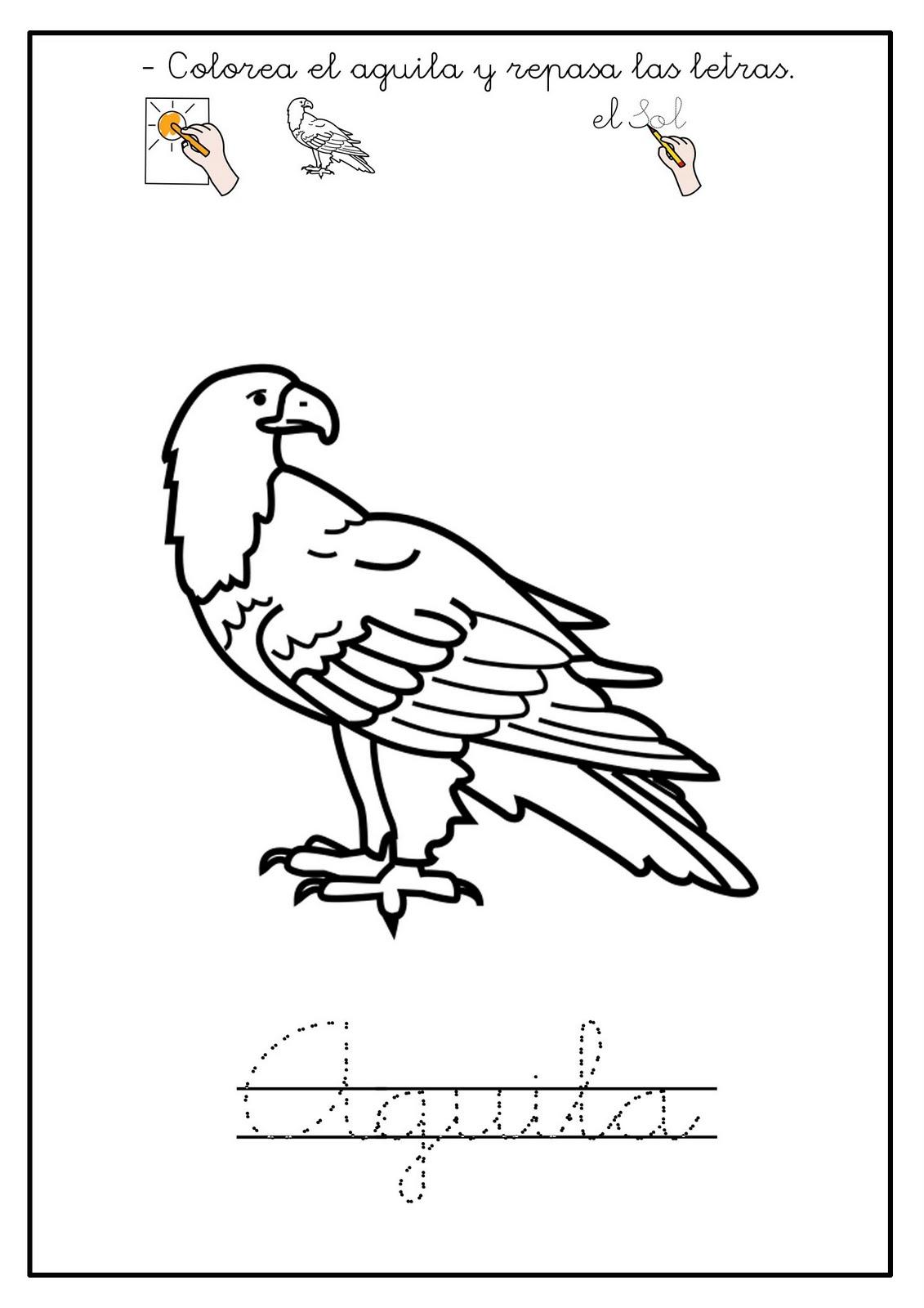 El arte de enseñar: Fichas adaptadas de animales 1