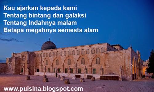 Puisi Islami Hikmah Isra Mi'raj