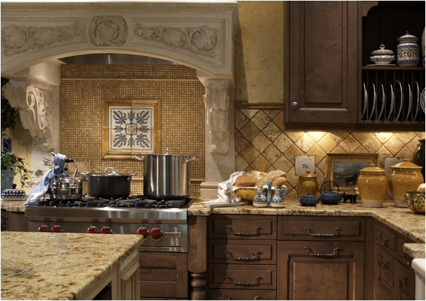 Traditional kitchen ideas room design inspirations for Pics of traditional kitchens