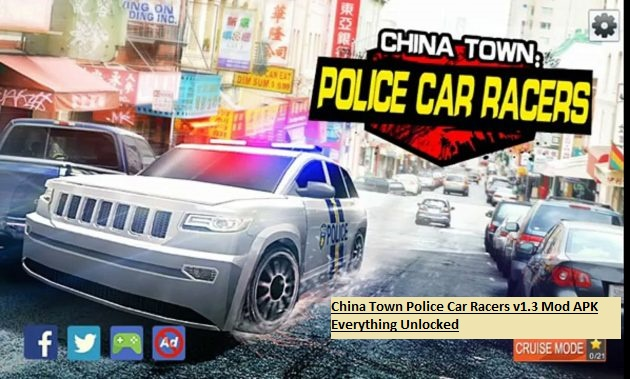 China Town Police Car Racers v1.3 Mod APK Everything Unlocked