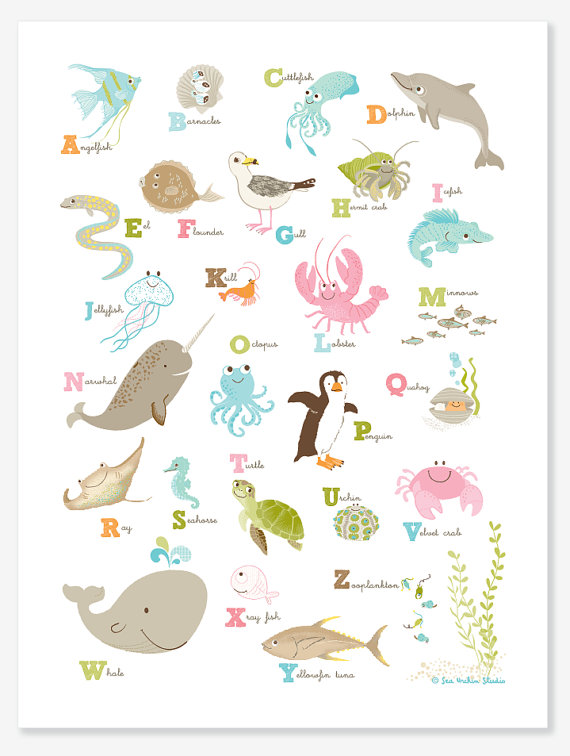 Baby Room Alphabet Letters