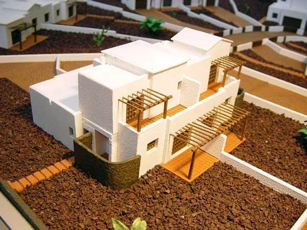 Tecnologia 1 b comunicaci n y la representaci n t cnica for Casa minimalista maqueta