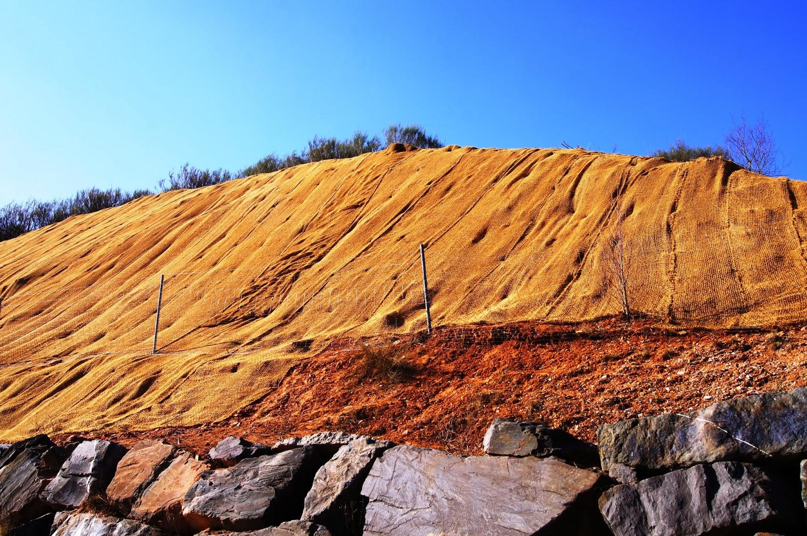 Aplicaciones de las biomallas o biomanta en la restauración