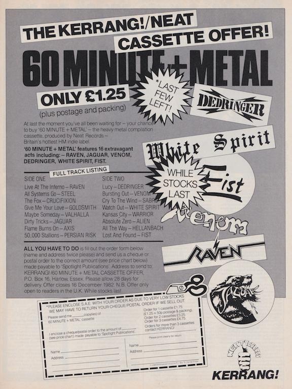60 Minute+ Metal