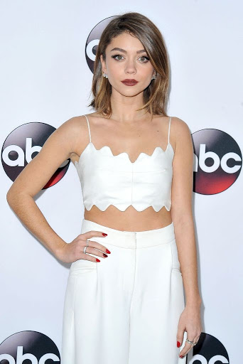 Sarah Hyland Disney ABC Television 2016 Winter TCA Tour red carpet dresses photo