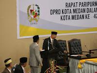 Hut Kota Medan, Walikota salah Baca Pidato