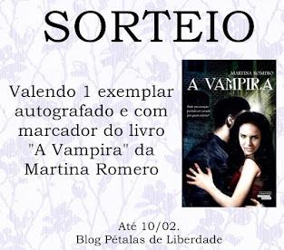 """Sorteio livro """"A Vampira"""""""