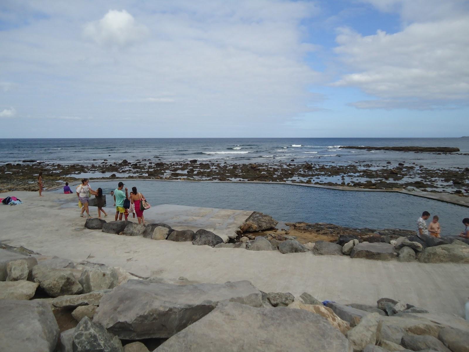 Telde habla la playa de la laja ya tiene piscina las for Piscinas naturales gran canaria