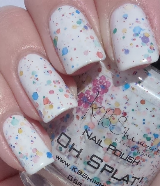 Oh Splat!, KB Shimmer, swatch