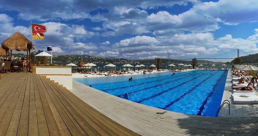İstanbul'un En İyi Yüzme Havuzları / Suada Havuz