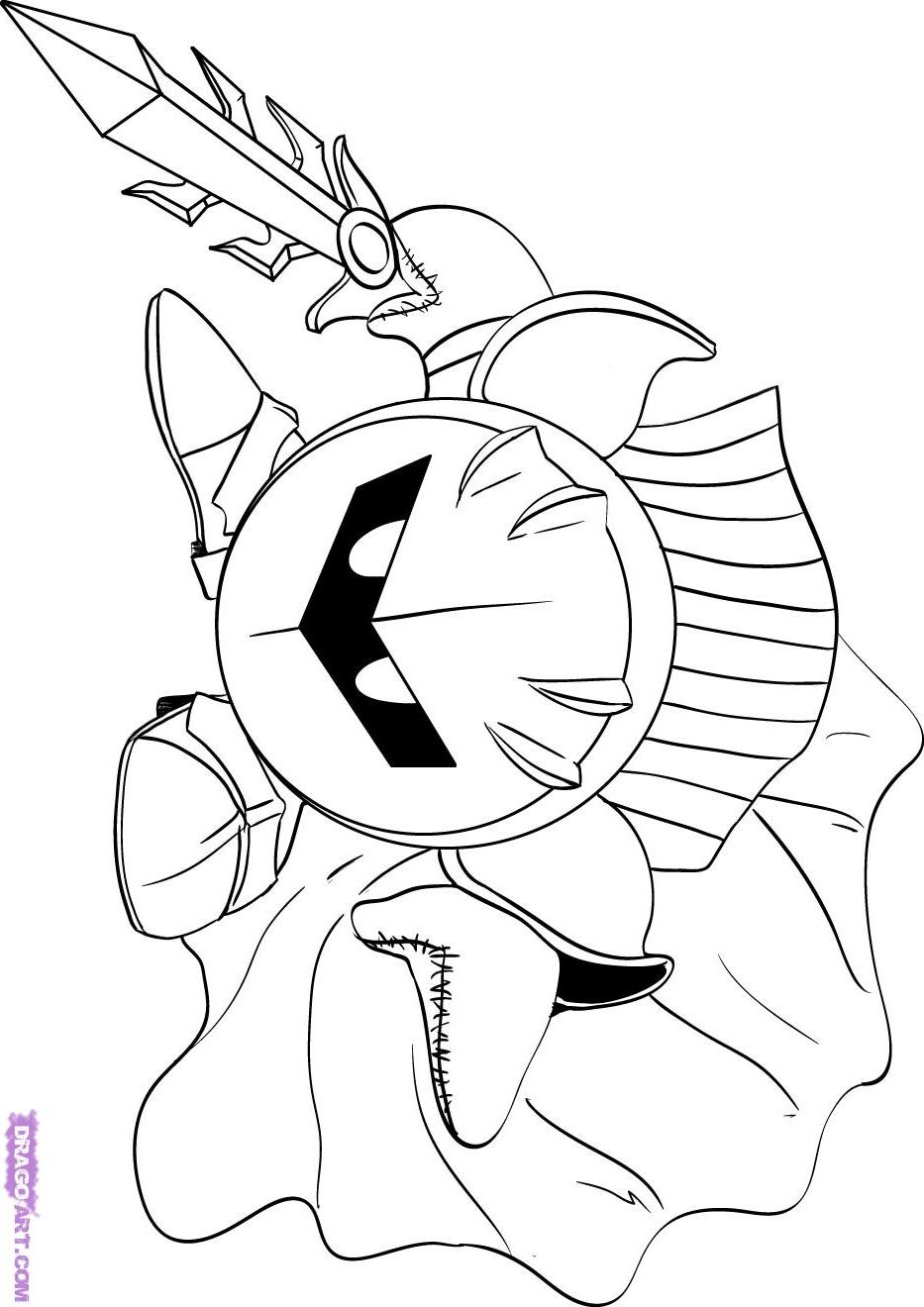waddle dee coloring pages - photo #23