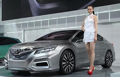 Honda Mobil City Siap Memamerkan New Sedan