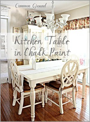Kitchen Table in Chalk Paint