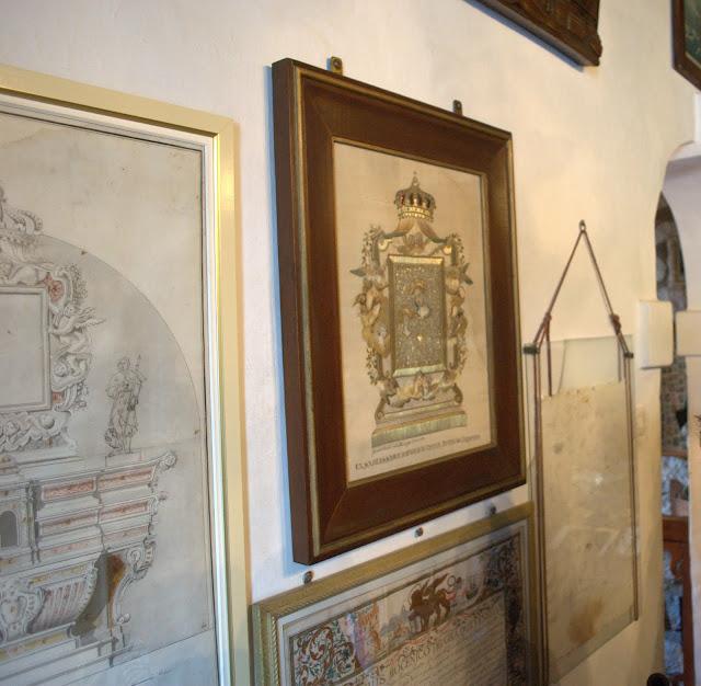 Вышитая картина в музее